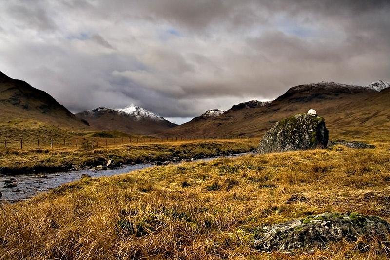 Glen Lochay - Inland Scotland
