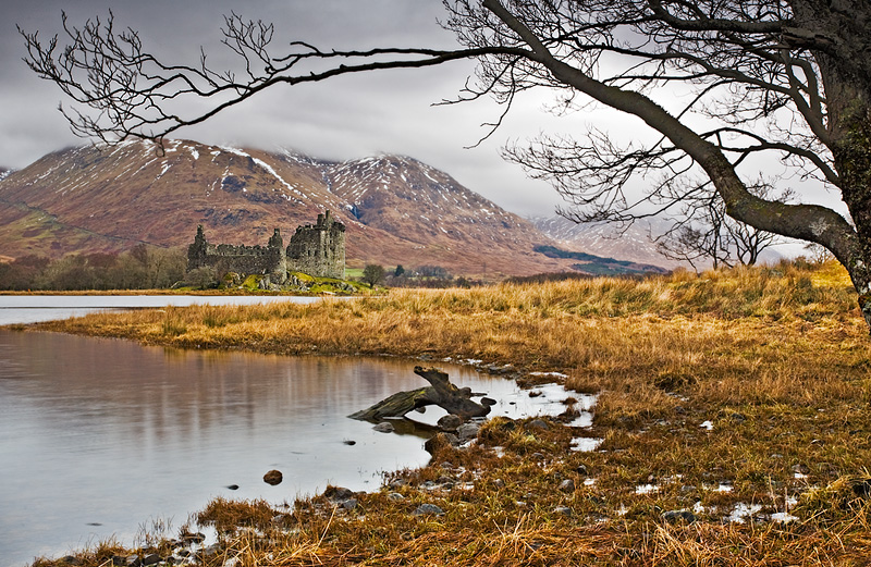 Kilchurn Castle - Inland Scotland