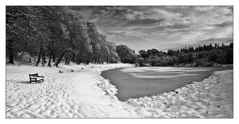 Callendar Lake - Monochrome Images