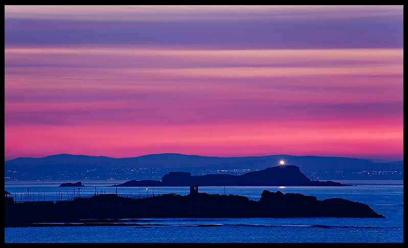 North Berwick Sunset - Coastal Scotland