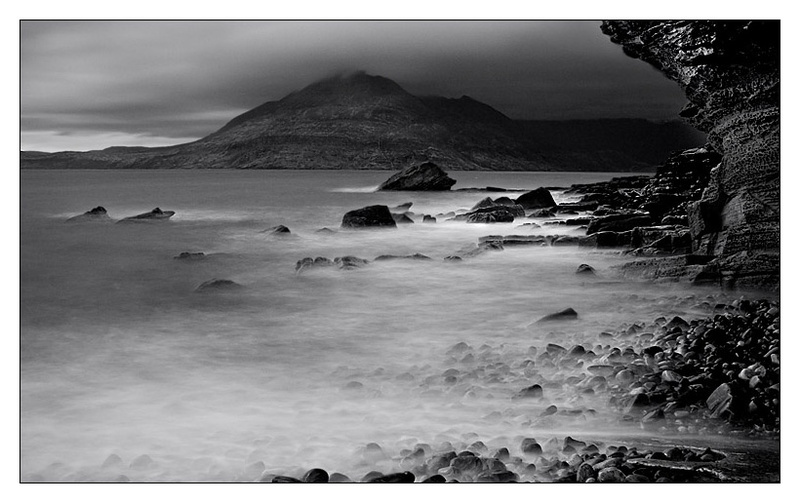 Black Cuillins - Isle of Skye - Monochrome Images