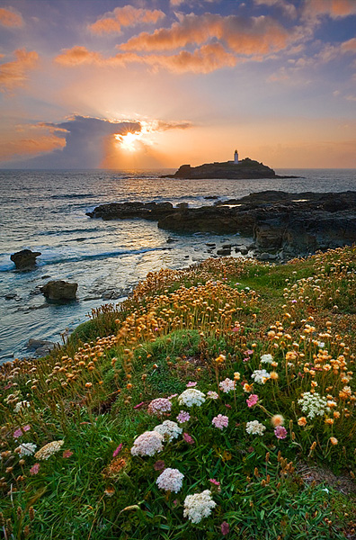Godrevy Lighthouse - Inland and Coastal England