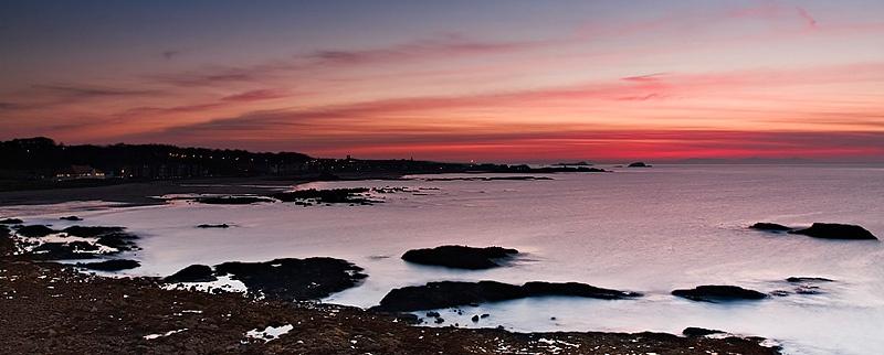 North Berwick Sunset - Coastal Scotland