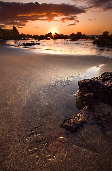 Low Tide - Coldingham Bay - Coastal Scotland