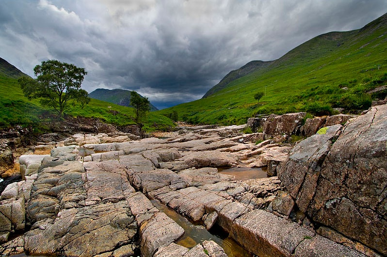 Glen Etive - Inland Scotland