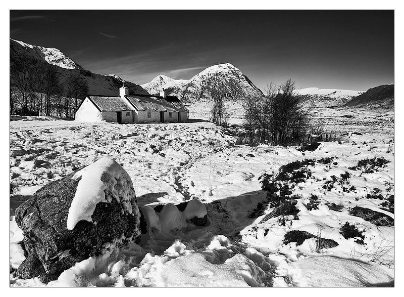 Black Rock Cottage - Monochrome Images