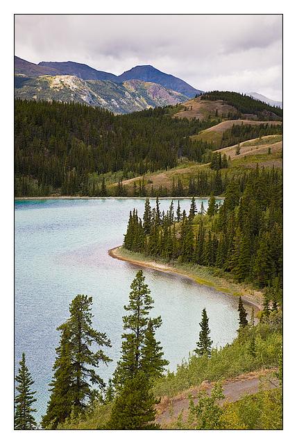 Rainbow Lake - Yukon - Canada - North America
