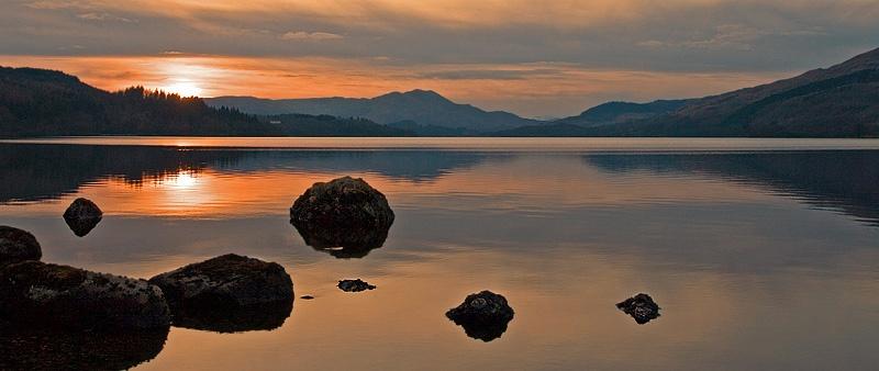 Loch Venachar - Trossachs - Inland Scotland