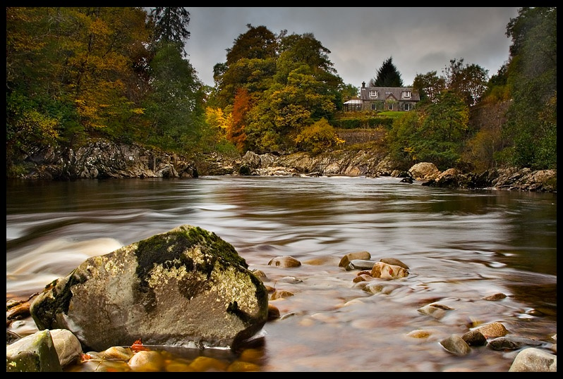 River Gary - Perthshire - Inland Scotland