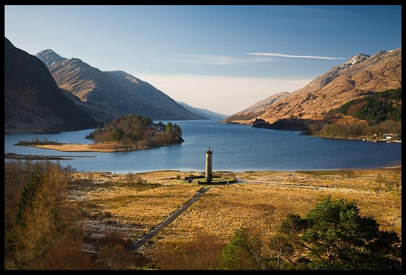 GlenFinnan  Loch Shiel - Inland Scotland