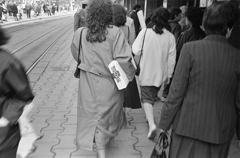 Sofia, Bulgaria - From the book Mellomspill (Between the Acts) on central Europe 1990