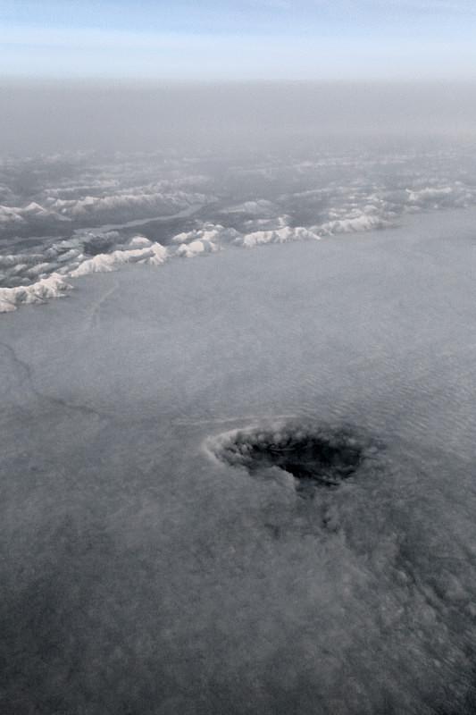 Fall Streak Hole, California - Airspace