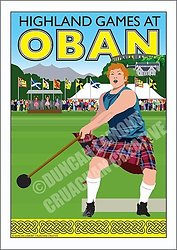 Highland Games at Oban portfolio