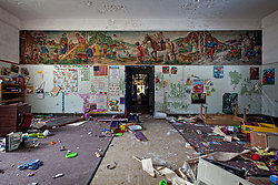 Rockland State Hospital (Orangeburg, NY) | Trashed Playroom