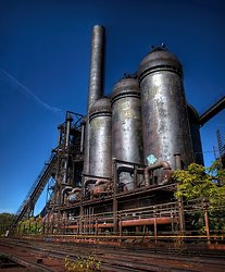 Carrie Furnaces (Rankin, PA) | it's all a matter of perspective