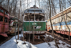 The Trolley Graveyard portfolio