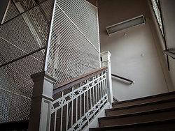 Overbrook Asylum (Cedar Grove, NJ)   Suicide-Proof Stairwell
