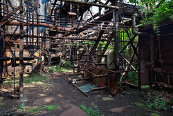 Carrie Furnaces (Rankin, PA) | A Riot of Leaves