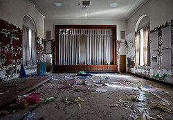 Rockland State Hospital (Orangeburg, NY) | Vandalized Theater
