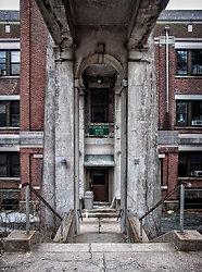 Overbrook Asylum (Cedar Grove, NJ)   Reception Building Wards 53-58