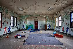 Rockland State Hospital (Orangeburg, NY) | Day Care Playroom