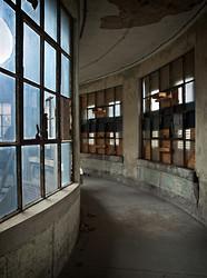Ellis Island Immigrant Hospital | Curved Hallway