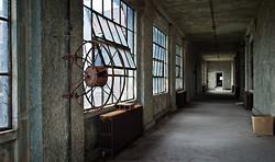 Ellis Island Immigrant Hospital | Central Hallway