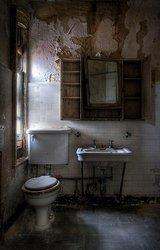 Ellis Island Immigrant Hospital | Bathroom