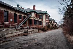 Overbrook Asylum (Cedar Grove, NJ)   Long Alley by Clothing Boutique