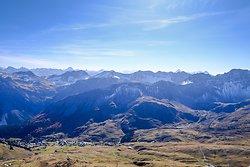 View to  Arosa