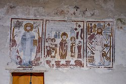 Mural inside Mistail Church - Tiefencastel