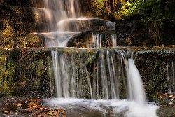 Waterfall near Lumsdale