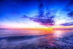 Dinas Dinlle Sunset