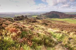Ramshaw Rocks View to Tittesworth