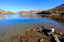 Lake Wide Angle St Moritz