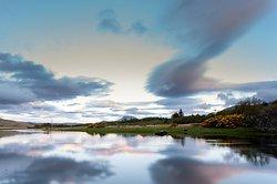 View down Lochdon
