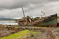 Old Boat at Salen