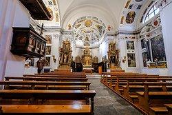 Church of St Stefan Tiefencastel