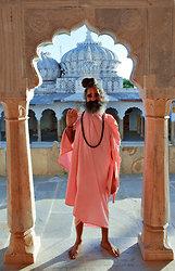 Priest at Ram Dwara Temple - Shahpura