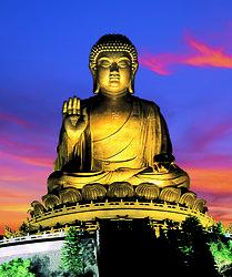 KM-354 Hong Kong - PO LIN - Giant Buddha