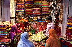 Sari shop in Jodhpur market