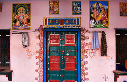Ramathra Village house entrance