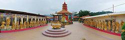KMPAN-70 Sha Tin 10000 Buddhas courtyard