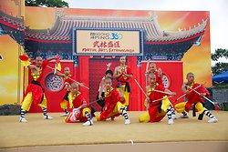 KM-381 Shaolin monks Kung Fu show at Po Lin Monastery