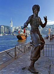 Bruce Li statue & the Aqua Luna-  DSC_8159