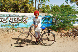 Farmer  bicycle Chatra Sagar