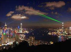 KM-325AM Laser show from Braemar Hill