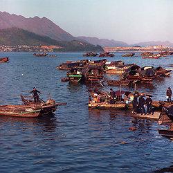 KM-250 Tai Po Kau boat people - 1974