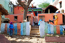 Ramathra Village house with goats