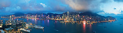 KMPAN-50 Hong Kong island from the ICC - Evening